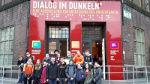 Sinneserfahrungen im Dunklen - Klasse 8a in Hamburg